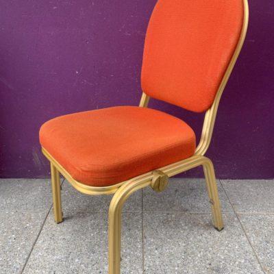 Terracotta burgess banquet stacking chair