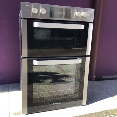 Hoover 900mm integrated double oven